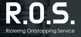 Logo ROS riolering ontstopping service